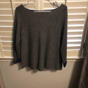Cynthia Rowley scoop neck sweater